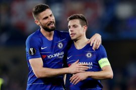 Chelsea, Arsenal, Valencia,  Eintracht melaju ke semifinal
