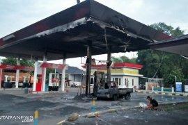 SPBU Sekarwangi Sukabumi kebakaran