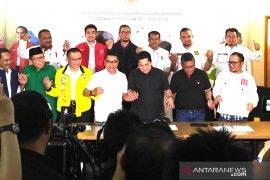 Tim kampanye Jokowi-Ma'ruf Amin sampaikan enam pernyataan resmi