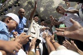 Syukuran kemenangan Prabowo