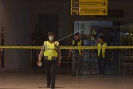 Suasana terminar keberangkatan domestik Bandara Ngurah Rai usai kebakaran