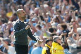 Guardiola lega, City sukses raih poin penuh di bawah tekanan