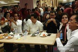 """Jokowi ajak Erick Tohir dan Wishnutama makan siang di """"GI"""""""