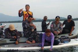 BKIPM Jambi lepasliarkan benih lobster sitaan  di Perairan Natuna