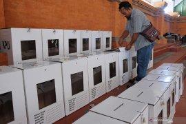 Polisi amankan terduga pelaku pembakaran surat suara
