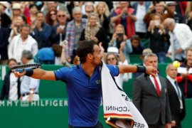 Fognini sukses tumbangkan Nadal di semifinal Monte Carlo Masters
