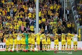 Hasil dan klasemen Liga Jerman, Dortmund jaga asa juara.