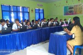 Belasan ribu siswa di Kabupaten Gorontalo jalani ujian nasional