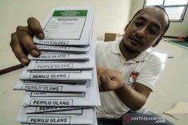 Persiapan logistik pemungutan suara ulang pemilu 2019