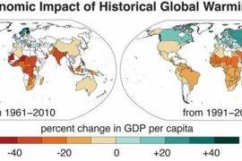 Pemanasan global tingkatkan ketimpangan ekonomi dunia