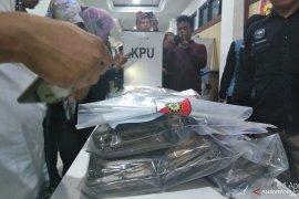 Polda tahan dua tersangka pembakaran surat suara  di Jambi