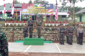 TNI dan TDM patroli bersama di perbatasan Indonesia-Malaysia