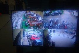 Rekapitulasi penghitungan suara di PPK Sukmajaya dipasangi CCTV