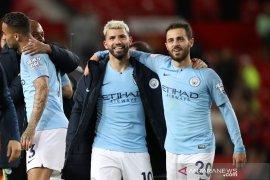Usai laga tunda, Manchester City terdepan klasemen Liga Inggris