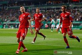 Dua gol sempat hilang, Muenchen lewati Bremen menuju final