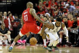 Rockets melesat ke putaran dua setelah kalahkan Jazz di gim kelima
