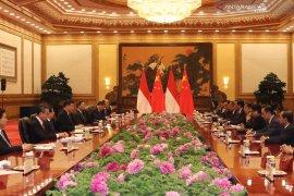 Kalla pastikan KA cepat rampung 2021 di depan Presiden China