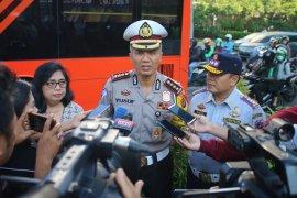 1.078 pengendara ditilang dalam Operasi Keselamatan Jaya hari ke-9
