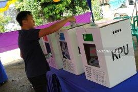 TPS 07 di Kota Pontianak gelar pemungutan suara ulang
