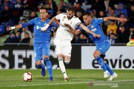 Laga Spanyol, Getafe kontra Real Madrid berakhir nirgol