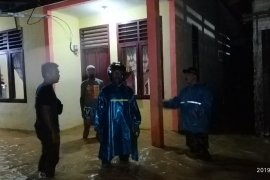 Puluhan rumah terendam banjir di Aceh Selatan