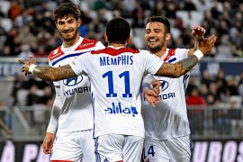 Lyon tundukkan Bordeaux 3-2