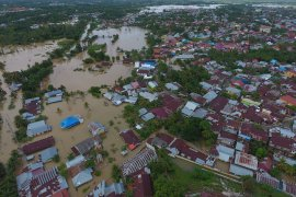 Kemensos kucurkan Rp832 juta untuk penanganan banjir Bengkulu
