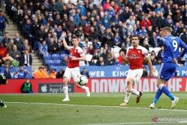 Arsenal dipermalukan Leicester, sulit tembus empat besar klasemen liga