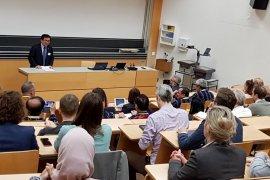 Forum diskusi KBRI-ATH Zurich-ISEI bahas isu kelapa sawit di Swiss