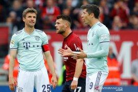 Munchen gagal perlebar jarak dengan Dortmund