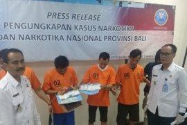 BNN Bali ringkus enam pengedar Narkoba di  Lapas Kerobokan