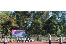 Polres Madina gelar apel pasukan Ops Keselamatan Toba 2019