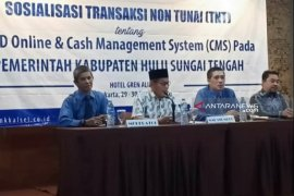 Sekda HST buka kegiatan sosilalisasi transaksi non tunai di Jakarta