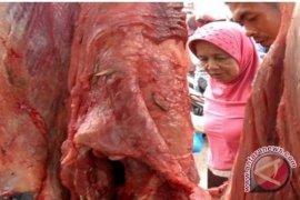 Di Tapanuli Selatan harga daging mulai naik