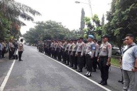Rapat pleno rekapitulasi  tingkat Kabupaten Indramayu dijaga 176 personel