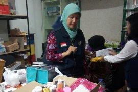 BBPOM Semarang mengamankan kosmetika ilegal senilai Rp1 miliar