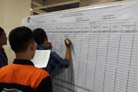Rekapitulasi suara di Kediri tinggal sisakan empat kecamatan