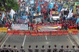 """Polisi selidiki aksi vandalisme saat """"May Day"""""""