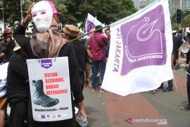 Aliansi wartawan soroti upah saat Hari Buruh