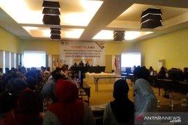 KPU Karawang dihujani interupsi dalam pleno rekapitulasi suara