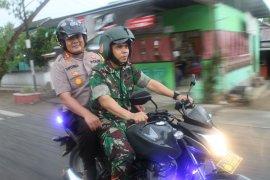 Dandim-Kapolres Gorontalo kawal distribusi kotak suara ke KPU