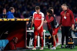 Ramsey tinggalkan Arsenal tanpa laga perpisahan karena cedera