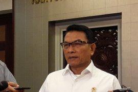 Moeldoko jelaskan rencana AHY bertemu Jokowi Kamis sore