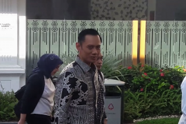 AHY tiba di Istana untuk bertemu Presiden Jokowi