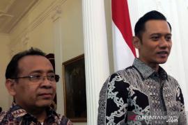 AHY bahas masa depan Indonesia bersama  Jokowi