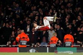 Menurut Aubameyang, ini yang buat Arsenal berhasil tundukkan Valencia