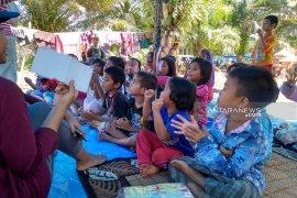 GMKI buka kelas belajar bagi pengungsi banjir di Bengkulu