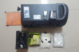 Polisi Jatim gagalkan penyelundupan 2 kg sabu-sabu Malaysia