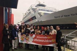 Relawan Jokowi New York gelar tasyakuran dan penggalangan dana