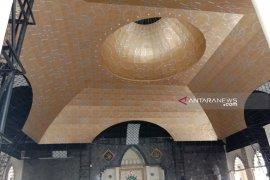 Kubah emas Masjid Raya Makassar sambut Ramadhan